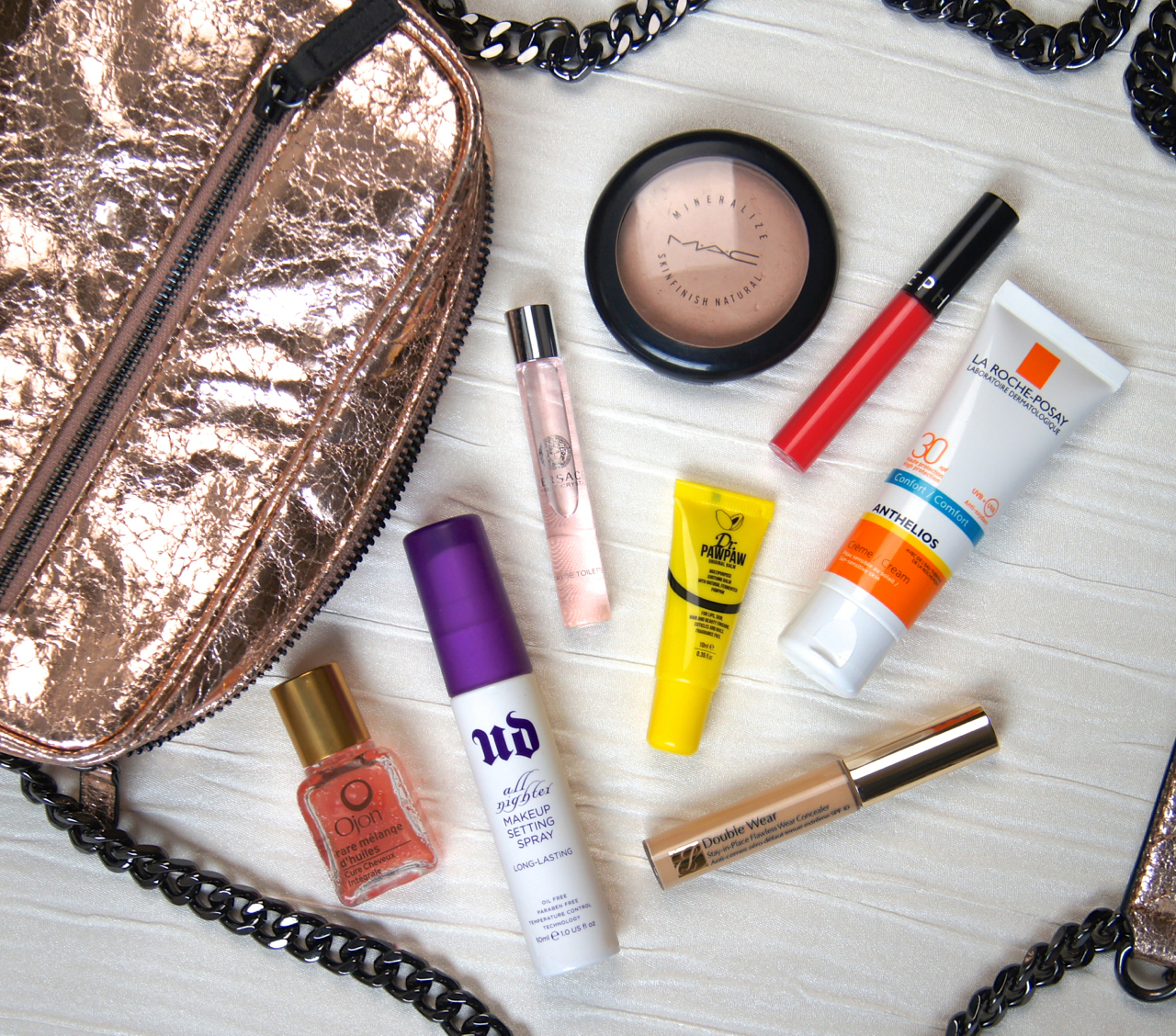 summer beauty what's in my handbag essentials
