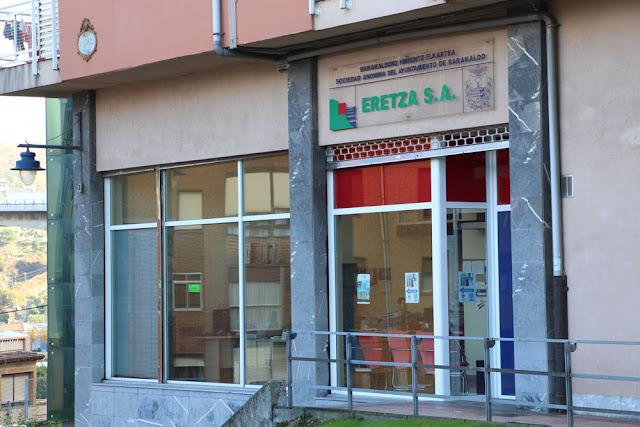 Sede de Eretza en el barrio de Rontegi