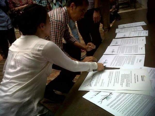 Ternyata Jokowi Punya Kontrak Politik dengan Honorer pada Pilpres 2014