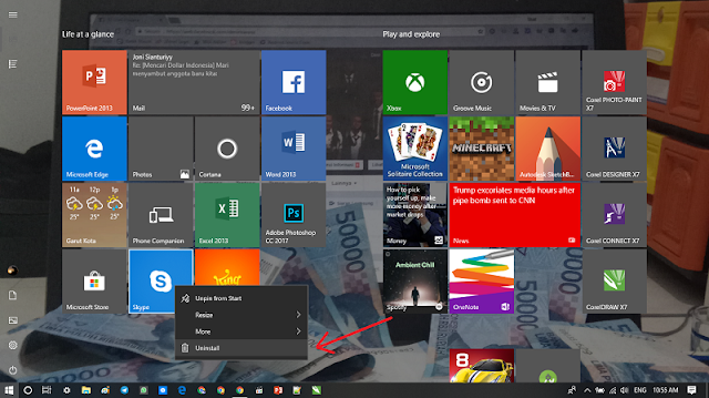 Cara Uninstall Aplikasi dan Software di Windows 10 Terbaru