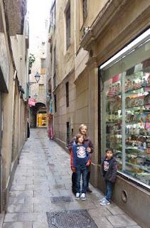 Barrio Gótico de Barcelona.