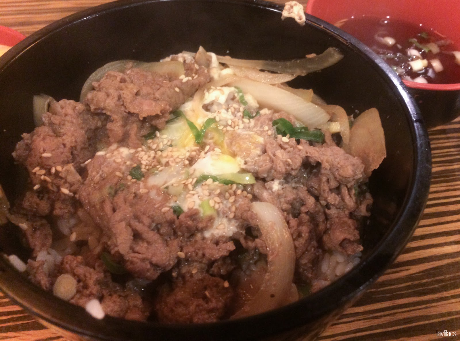 Seoul, Korea - Summer Study Abroad 2014 - Gyudon from some Japanese restaurant in Myeongdong