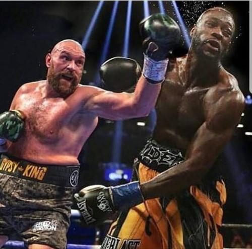 Do not see Anthony Joshua Tyson Fury v Deontay Wilder, a man who won the Heavyweight war