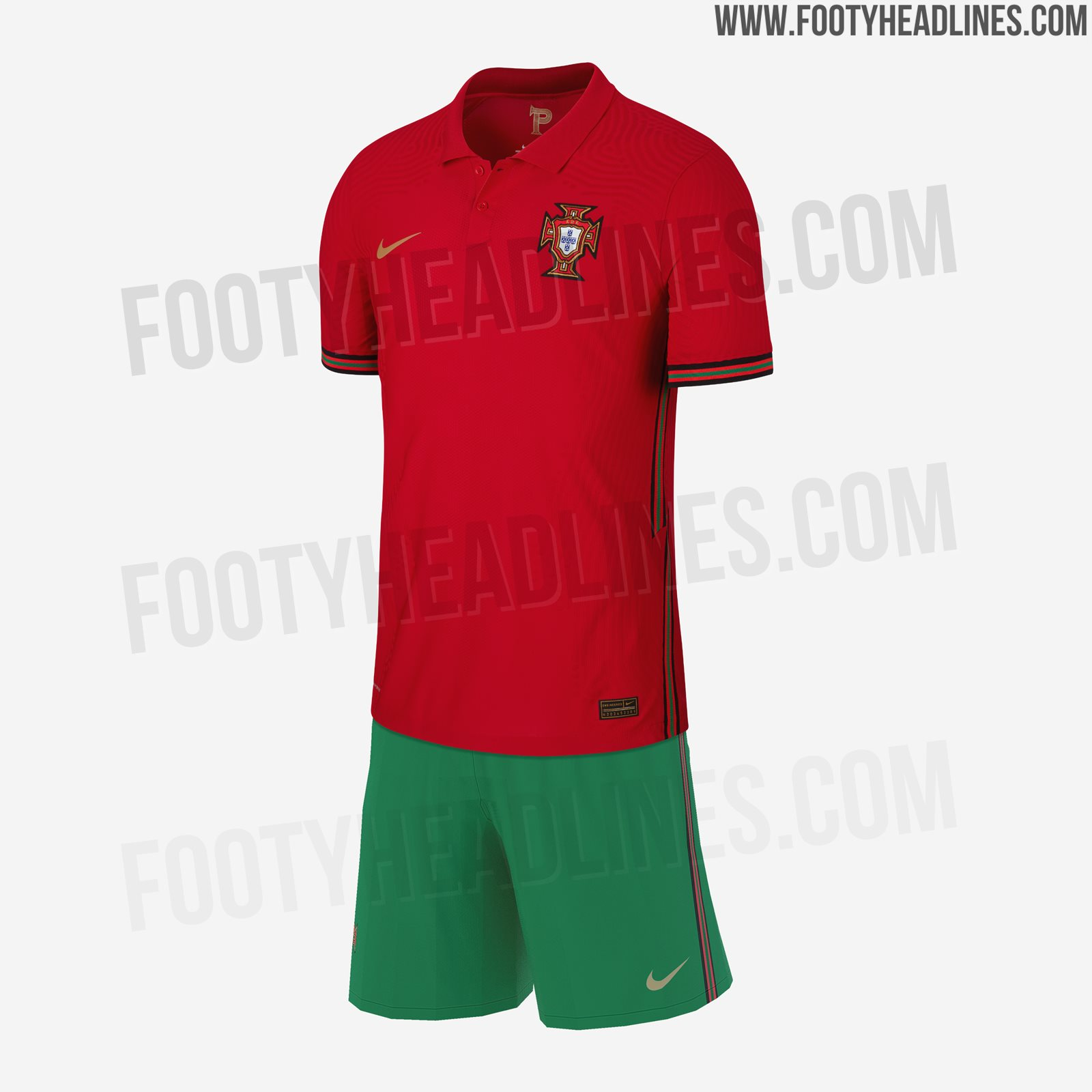 Nike Portugal Euro 2020 Home Kit Leaked - Even More New Pictures - Footy Headlines