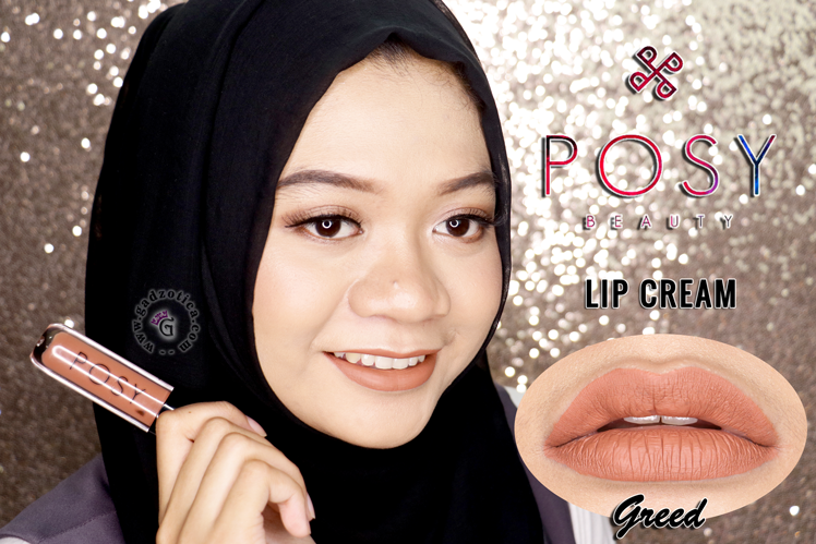 Posy Beauty Lipstick Matte Greed