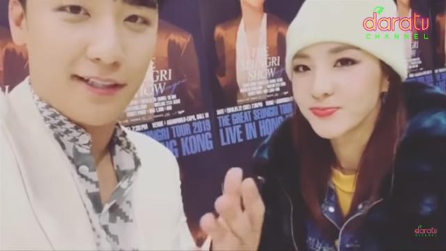 Dara TV :  Sandara PD with THE SEUNGRI SHOW l DARATV IN HONGKONG