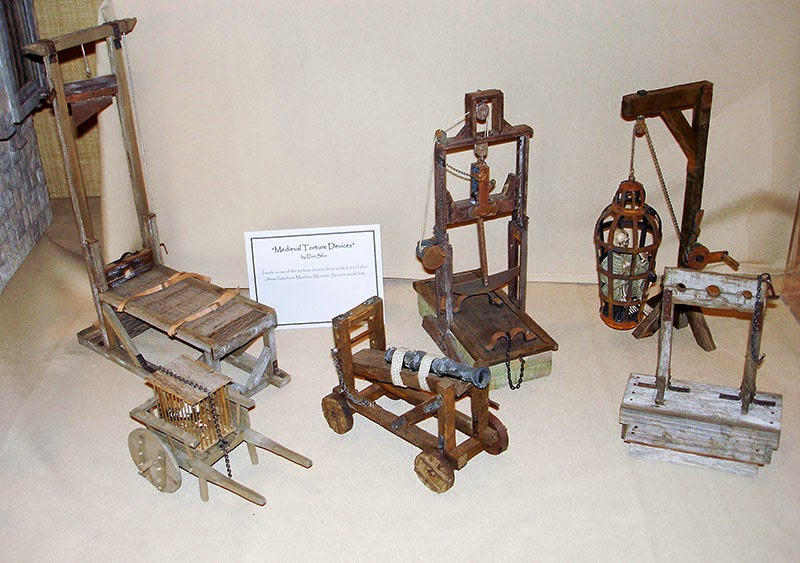 Good Sam Showcase Of Miniatures Exhibit Medieval Torture
