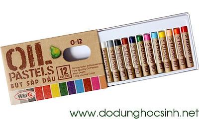 Bút sáp dầu 12 màu O-12 (WinQ)