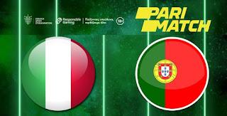 Επιλογές στην Parimatch «Ιταλία - Πορτογαλία, νίκη της Ιταλίας 2.26»