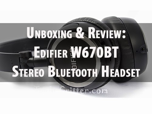 Unboxing & Review: Edifier W670BT Stereo Bluetooth Headset 35
