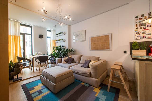 În vizită la designerul de interior Vitalina Golubev, în apartamentul ei din Kiev