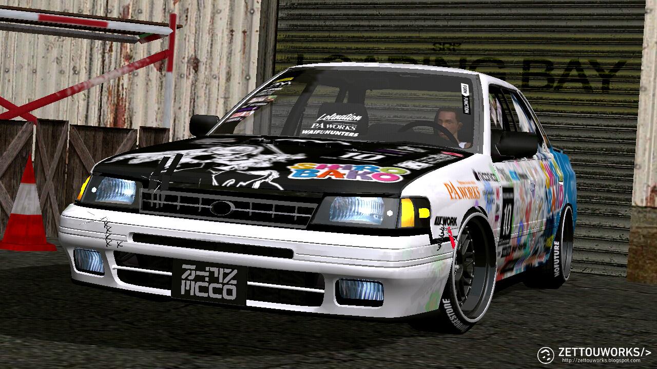 zettou works | gta sa mods: 1990 subaru legacy rs