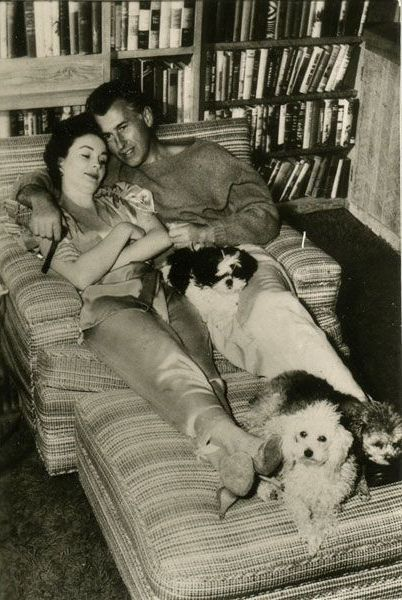 Image result for vintage movie stars with their pets