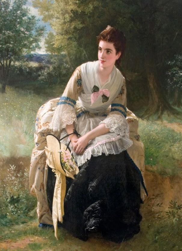 Уильям Оливер William Oliver - Сбор цветов