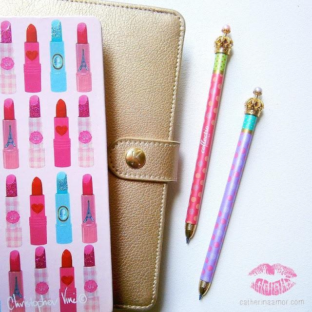 Christopher Vine Lipstick Notebook