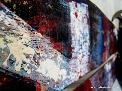 block painting