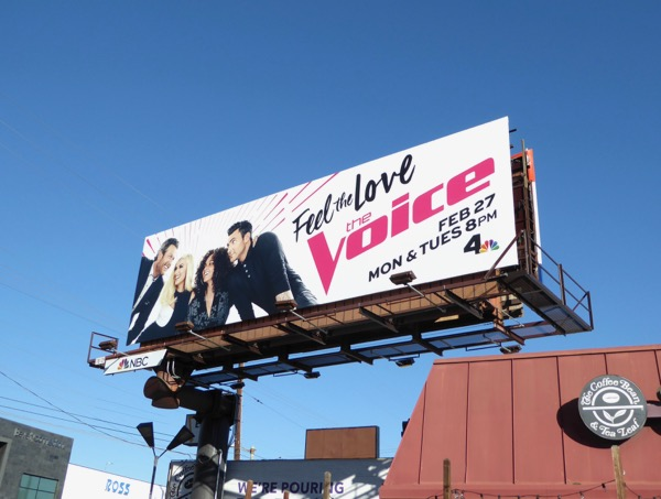 The Voice season 12 billboard