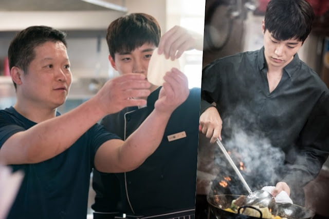 chef and Junho Wok of Love