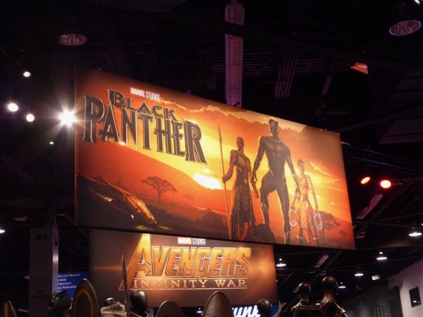 Black Panther movie exhibit D23 Expo 2017