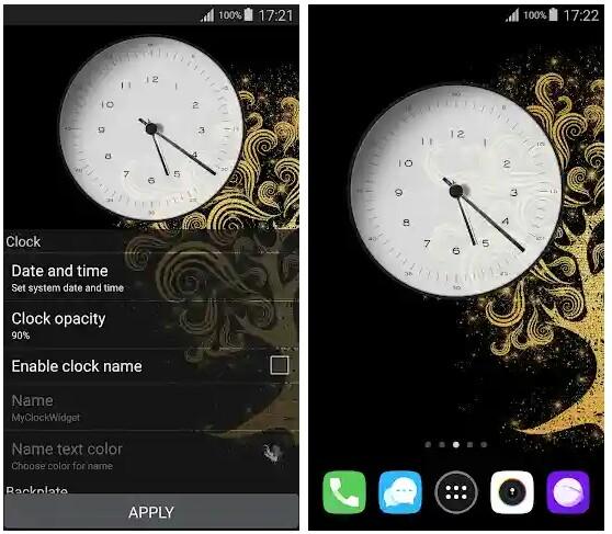 clock-widget