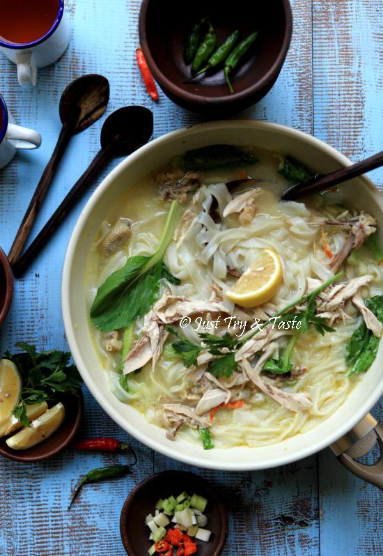 Resep Kwetiaw Kuah Ayam Kampung