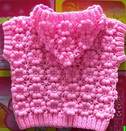 How to Make a Crocheted Flower Coat