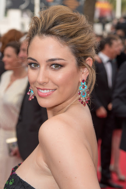 Cannes 2015, red carpet jewelry, jewellery, Chopard, diamonds, turquoise