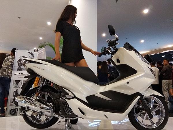 Model SPG All New Honda PCX Pontianak Kalbar - kaharsan