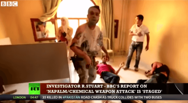 CNN And BBC News Caught Staging Fake News Chemical Attacks In Syria In 2013