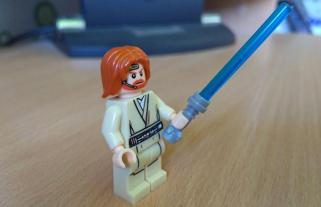 Оби-Вана Кеноби джедай минифигурка лего купить