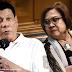 President Duterte on De Lima`s oust: I do not intervene, I don`tcare