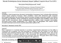 Jurnal Metode Pembelajaran Akuntansi Yang Menarik Dengan Aplikasi Computer-Based Test (Cbt)