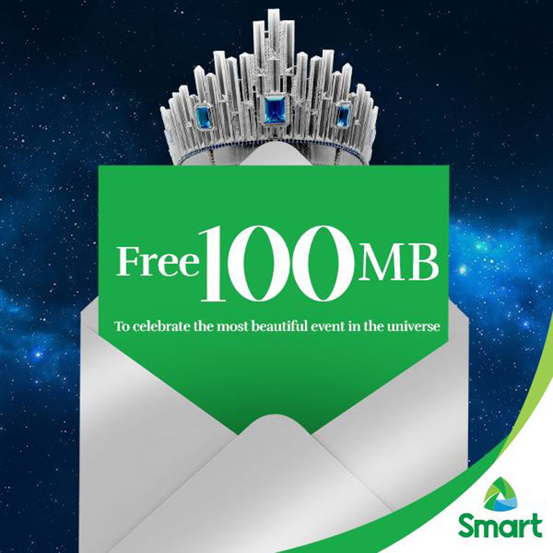 Smart is giving free 100MB
