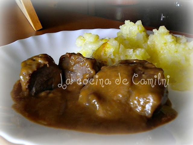 Carrillada ibérica en salsa (La cocina de Camilni)