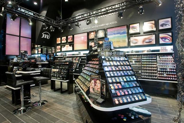 Loja de maquiagem Make-up studio em Amsterdã