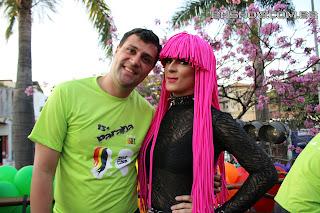 IMG 0039 - 13ª Parada do Orgulho LGBT Contagem reuniu milhares de pessoas