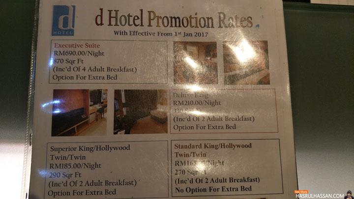 Bercuti di D Hotel Seri Iskandar