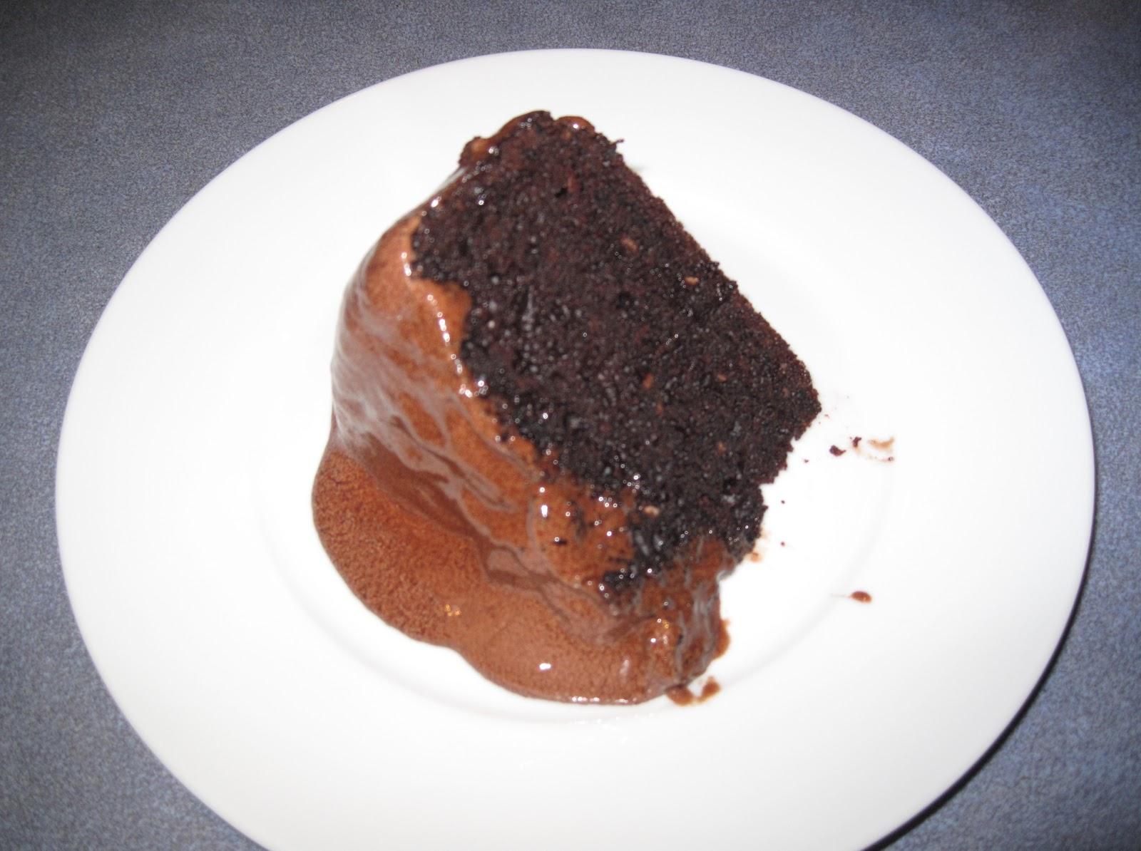 X Chocolate Cake Creamed Icing