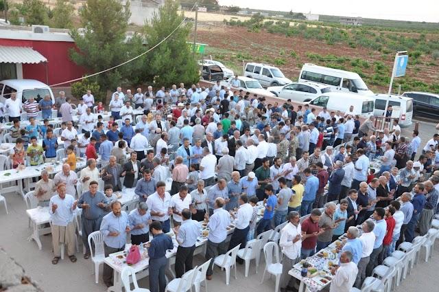 Bozova Platformu Şanlıavşar'da İftar  Verdi