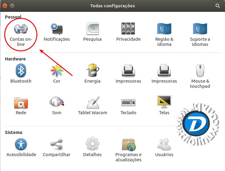 Como usar o Google Drive nativamente no Ubuntu 16 04 LTS