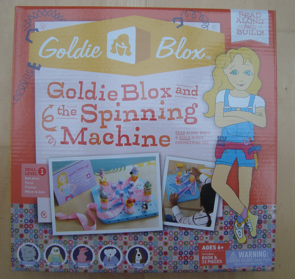 Goldie Blox and the Spinning Machine Box