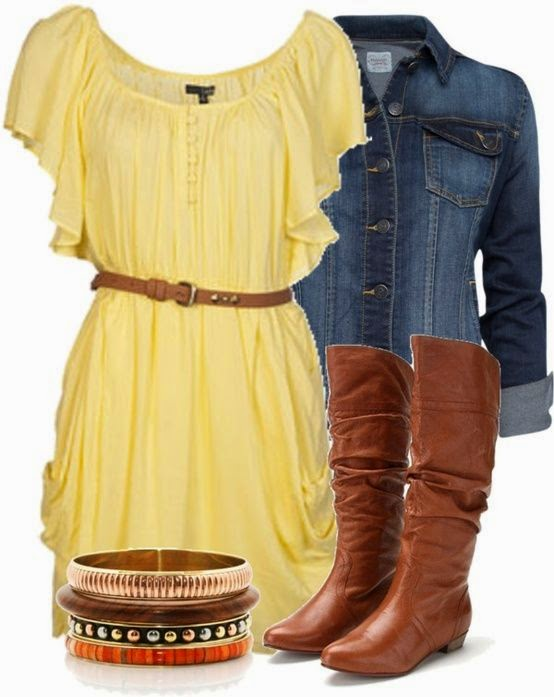 23e22f43a8a6 fashion  Not usually a yellow kind of gal- but this summer set is ...
