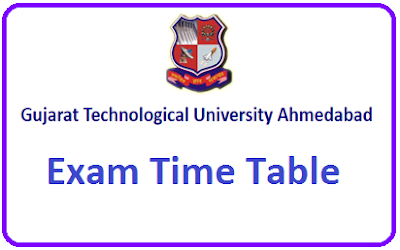 GTU Time Table Summer 2020
