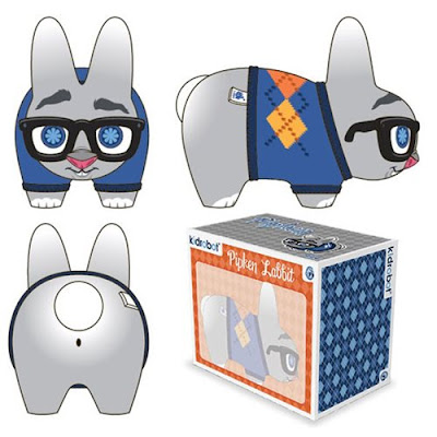 "Pipkin Blue Edition Labbit 7"" Vinyl Figure by Scott Tolleson x Kidrobot"