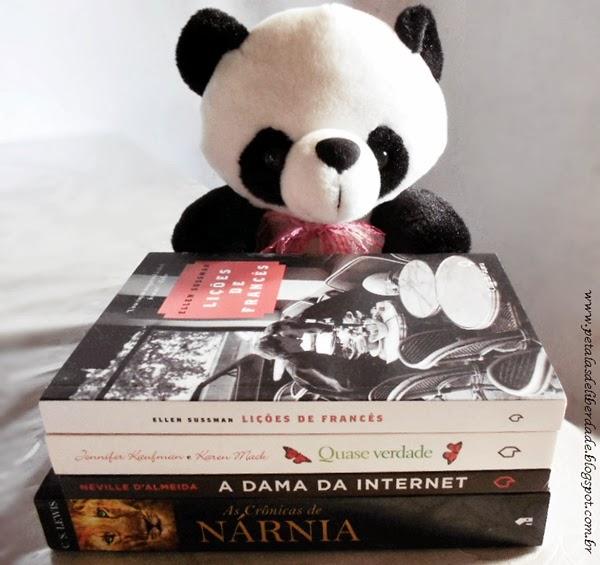 Nárnia, livros, urso de pelúcia