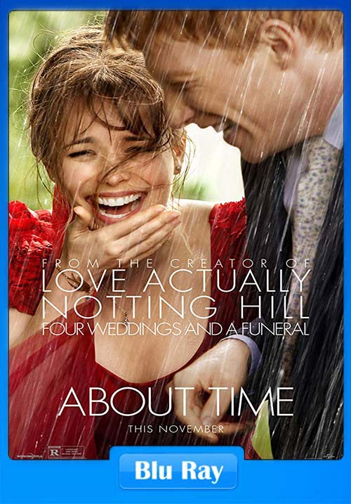 About Time 2013 720p BluRay Hindi ESub x264 | 480p 300MB | 100MB HEVC Poster