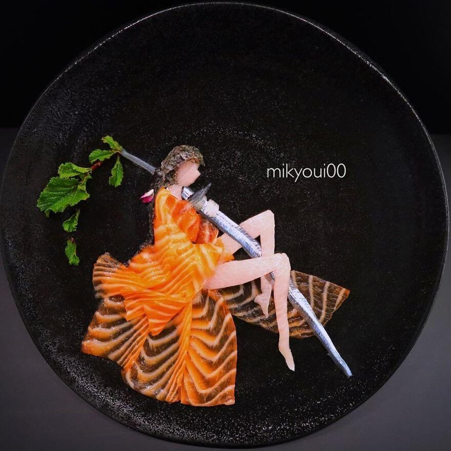 12-Samurai-Mikyou-Sashimi-Art-in-Fish-Food-Art-www-designstack-co