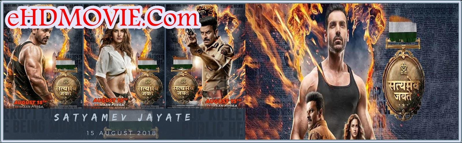 Satyameva Jayate 2018 Full Movie Hindi 1080p – 720p – HEVC – 480p ORG WEB-DL 200MB - 400MB – 650MB – 1.1GB – 3.2GB ESubs Free Download