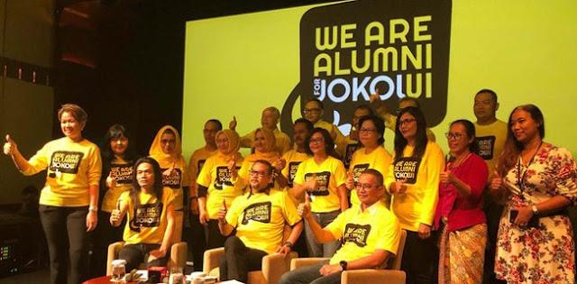 "Balada Alumni ""Nasi Bungkus"" UI For Jokowi"