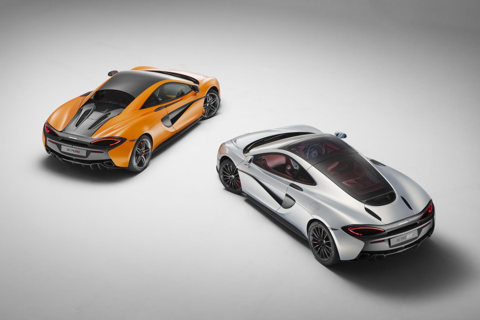 McLaren 570S, 540 C & 570GT sẽ là con bài chủ chốt của McLaren trong những năm tới